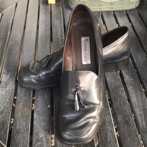 🍬Vintage Sheffield Etienne Aigner Blue Loafers